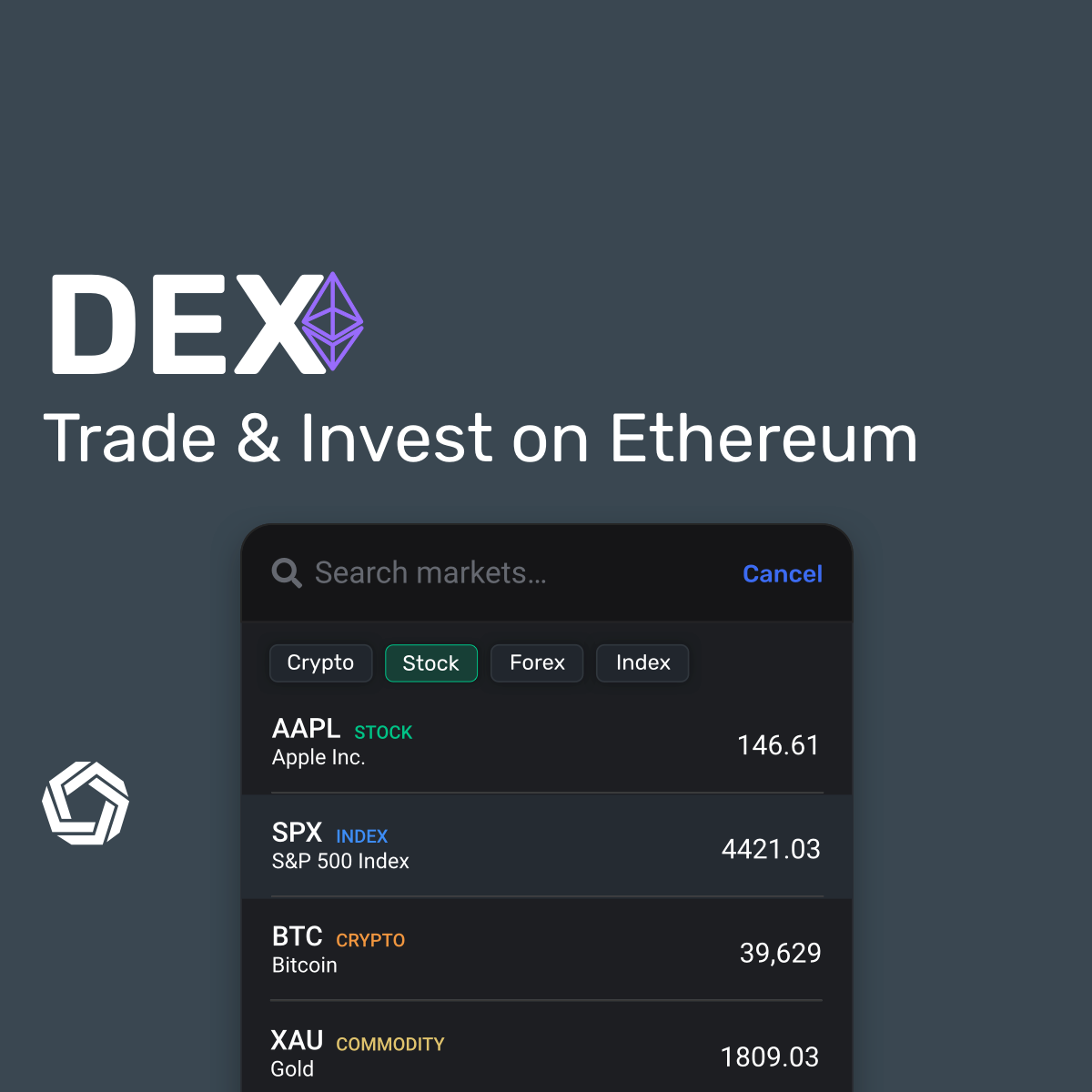 Morpher DEX launch: search 700 markets on Ethereum.